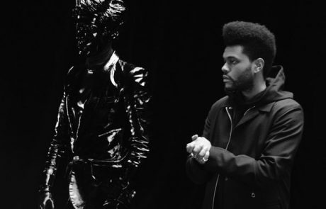 "The Weeknd sjell videoklipin ""Lost in Fire"""